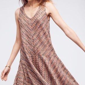 Anthropologie Maeve Westwater Dress Knit Flare